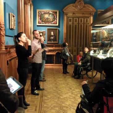 Grupo de investigación ARCHES en el Museo Lázaro Galdiano