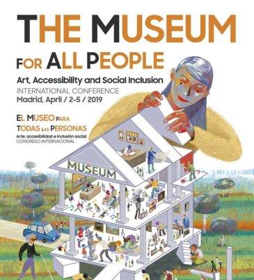 Cartel del congreso El museo para todas las personas